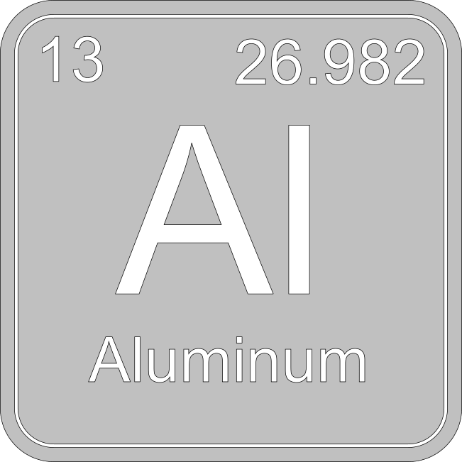 Aluminum conducts heat almost as well as copper but reacts with many other metals.
