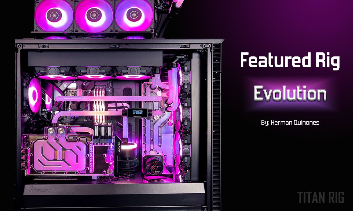 Featured water cooled PC