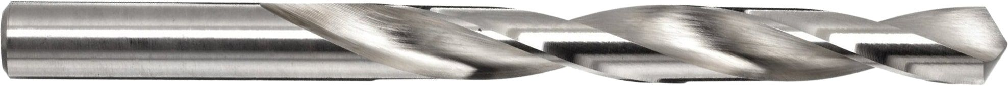 Drill bit with a steep helix angle